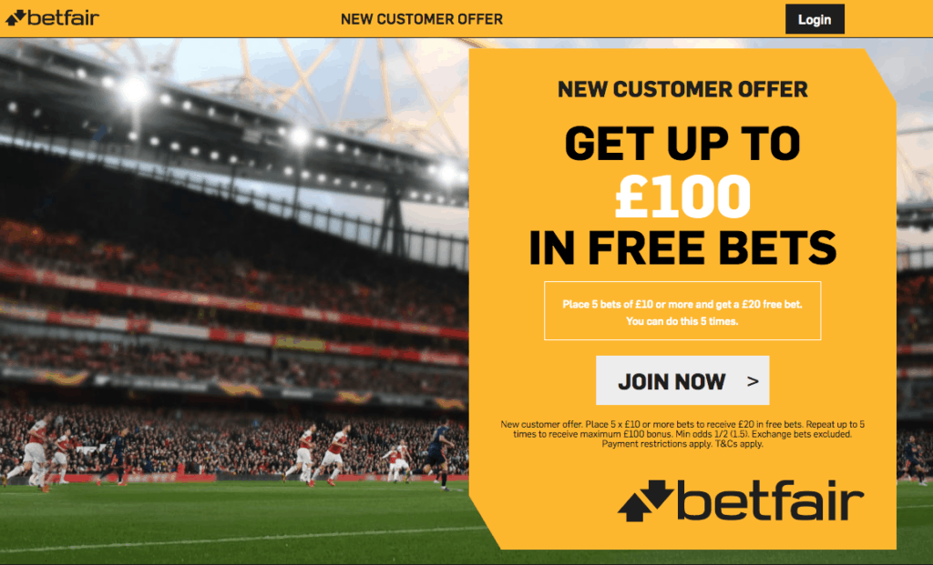 Betting betfair promotion quickwin betting girne map