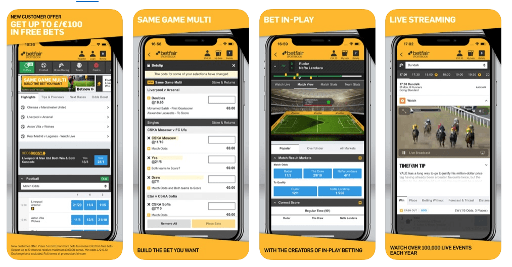 betfair mobile app download apk android iphone
